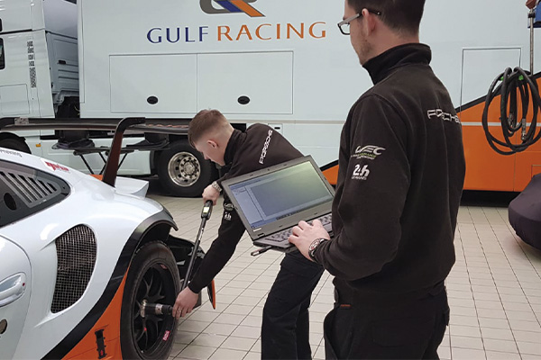 Norbar NorTronic with TDS Software at Gulf Racing